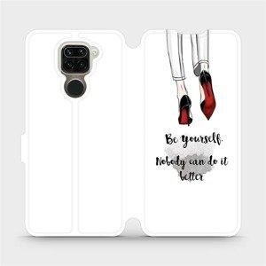 Flipové pouzdro Mobiwear na mobil Xiaomi Redmi Note 9 - M046P Be yourself
