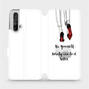 Flipové pouzdro Mobiwear na mobil Realme X3 SuperZoom - M046P Be yourself
