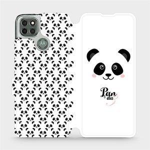 Flipové pouzdro Mobiwear na mobil Motorola Moto G9 Power - M030P Panda Amálka