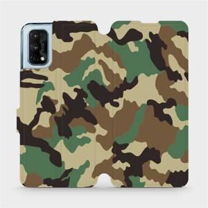 Flipové pouzdro Mobiwear na mobil Realme 7 Pro - V111P Maskáče - výprodej