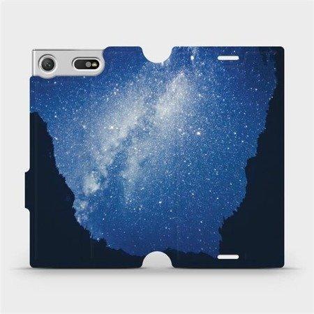 Flipové pouzdro Mobiwear na mobil Sony Xperia XZ1 Compact - M146P Galaxie