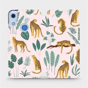 Flip pouzdro Mobiwear na mobil Huawei Y6S - MP07S Leopardi