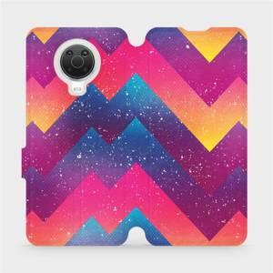Flip pouzdro Mobiwear na mobil Nokia G20 - V110S Barevné klikyháky