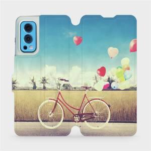 Flip pouzdro Mobiwear na mobil OnePlus Nord 2 5G - M133P Kolo a balónky