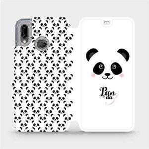 Flipové pouzdro Mobiwear na mobil Huawei P20 Lite - M030P Panda Amálka