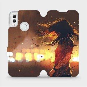 Flipové pouzdro Mobiwear na mobil Honor 10 Lite - MA02S Tetovaná dívka