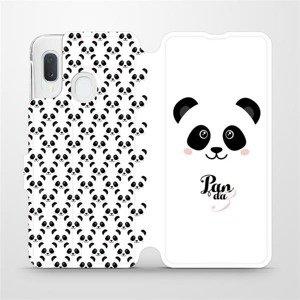 Flipové pouzdro Mobiwear na mobil Samsung Galaxy A20e - M030P Panda Amálka