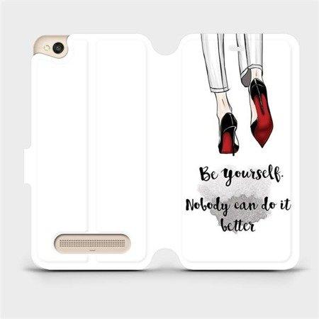 Flipové pouzdro Mobiwear na mobil Xiaomi Redmi 4A - M046P Be yourself