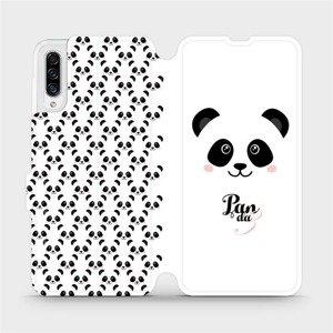 Flipové pouzdro Mobiwear na mobil Samsung Galaxy A30s - M030P Panda Amálka
