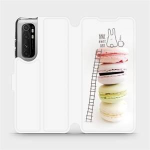 Flipové pouzdro Mobiwear na mobil Xiaomi Mi Note 10 Lite - M090P Makronky - have a nice day