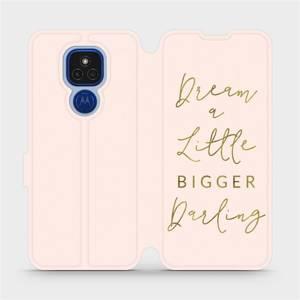 Flipové pouzdro Mobiwear na mobil Motorola Moto E7 Plus - M014S Dream a little