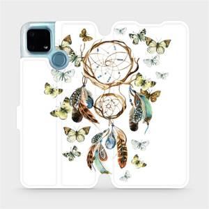 Flip pouzdro Mobiwear na mobil Realme 7i - M001P Lapač a motýlci