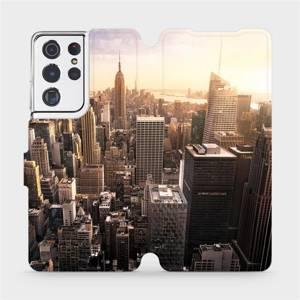 Flipové pouzdro Mobiwear na mobil Samsung Galaxy S21 Ultra 5G - M138P New York