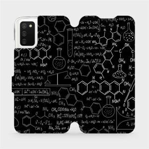 Flipové pouzdro Mobiwear na mobil Samsung Galaxy A02s - V060P Vzorečky
