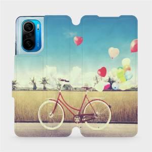 Flipové pouzdro Mobiwear na mobil Xiaomi Mi 11i / Xiaomi Poco F3 - M133P Kolo a balónky