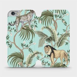 Flip pouzdro Mobiwear na mobil Apple iPhone 6s / iPhone 6 - MP08S Dvě kočičky
