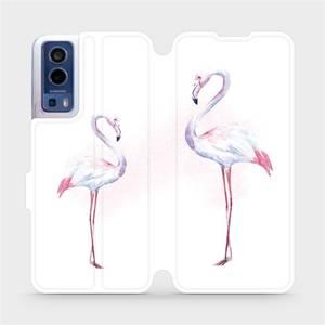 Flip pouzdro Mobiwear na mobil Vivo Y72 5G / Vivo Y52 5G - M005S Plameňáci