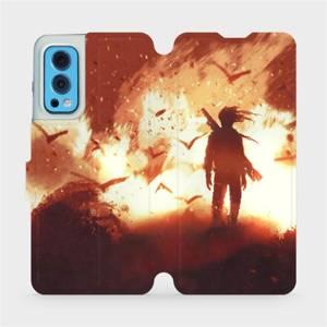 Flip pouzdro Mobiwear na mobil OnePlus Nord 2 5G - MA06S Postava v ohni