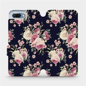 Flipové pouzdro Mobiwear na mobil Honor 10 - V068P Růžičky