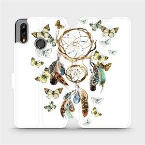 Flipové pouzdro Mobiwear na mobil Huawei P Smart 2019 - M001P Lapač a motýlci