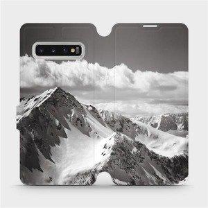 Flipové pouzdro Mobiwear na mobil Samsung Galaxy S10 - M152P Velehory