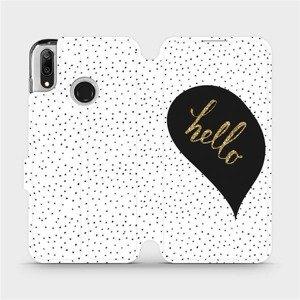Flipové pouzdro Mobiwear na mobil Huawei Y7 2019 - M013P Golden hello