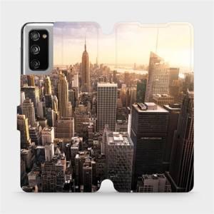 Flipové pouzdro Mobiwear na mobil Samsung Galaxy S20 FE - M138P New York