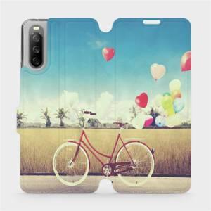 Flip pouzdro Mobiwear na mobil Sony Xperia 10 III - M133P Kolo a balónky