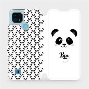 Flip pouzdro Mobiwear na mobil Realme C21 - M030P Panda Amálka