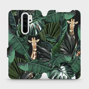 Flip pouzdro Mobiwear na mobil Xiaomi Redmi Note 8 Pro - VP06P Žirafky