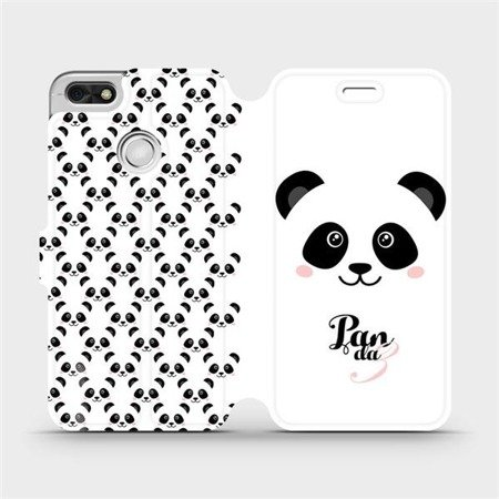 Flipové pouzdro Mobiwear na mobil Huawei P9 Lite mini - M030P Panda Amálka