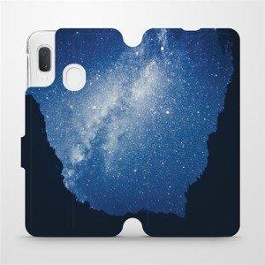 Flipové pouzdro Mobiwear na mobil Samsung Galaxy A20e - M146P Galaxie