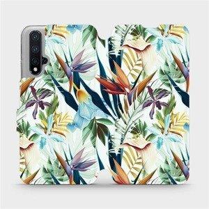 Flipové pouzdro Mobiwear na mobil Honor 20 - M071P Flóra
