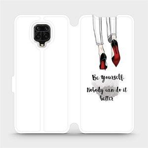 Flipové pouzdro Mobiwear na mobil Xiaomi Redmi Note 9 Pro - M046P Be yourself