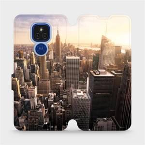 Flipové pouzdro Mobiwear na mobil Motorola Moto E7 Plus - M138P New York