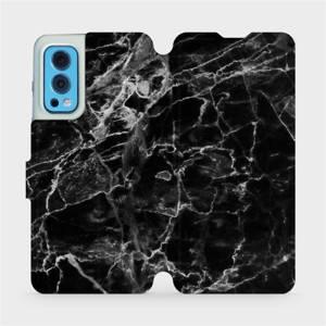 Flip pouzdro Mobiwear na mobil OnePlus Nord 2 5G - V056P Černý mramor