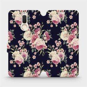 Flipové pouzdro Mobiwear na mobil Huawei Mate 10 Lite - V068P Růžičky
