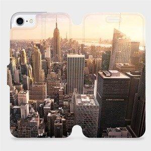 Flipové pouzdro Mobiwear na mobil Apple iPhone SE 2020 - M138P New York