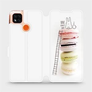 Flipové pouzdro Mobiwear na mobil Xiaomi Redmi 9C - M090P Makronky - have a nice day