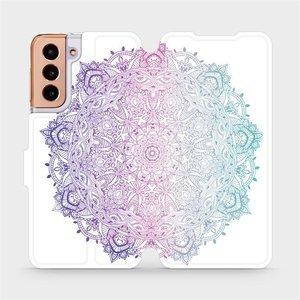 Flipové pouzdro Mobiwear na mobil Samsung Galaxy S21 5G - M008S Mandala