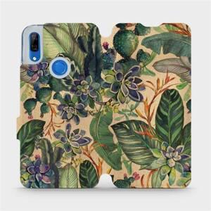 Flip pouzdro Mobiwear na mobil Huawei P Smart Z - VP05S Sukulenty