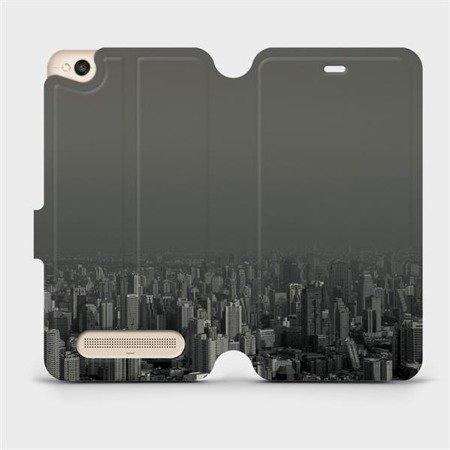 Flipové pouzdro Mobiwear na mobil Xiaomi Redmi 4A - V063P Město v šedém hávu