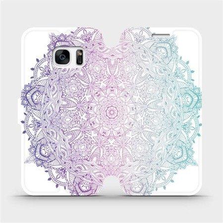 Flipové pouzdro Mobiwear na mobil Samsung Galaxy S7 - M008S Mandala
