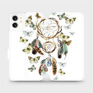 Flipové pouzdro Mobiwear na mobil Apple iPhone 11 - M001P Lapač a motýlci