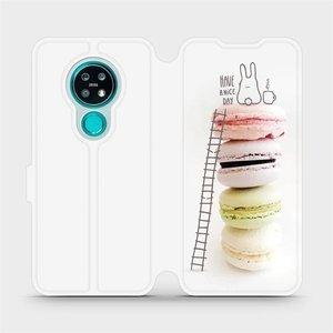 Flipové pouzdro Mobiwear na mobil Nokia 7.2 - M090P Makronky - have a nice day