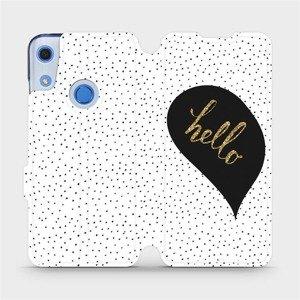 Flipové pouzdro Mobiwear na mobil Huawei Y6S - M013P Golden hello