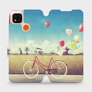 Flipové pouzdro Mobiwear na mobil Xiaomi Redmi 9C - M133P Kolo a balónky