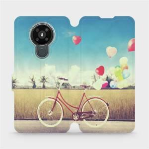 Flipové pouzdro Mobiwear na mobil Nokia 3.4 - M133P Kolo a balónky