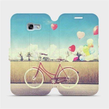 Flipové pouzdro Mobiwear na mobil Samsung Galaxy A3 2017 - M133P Kolo a balónky