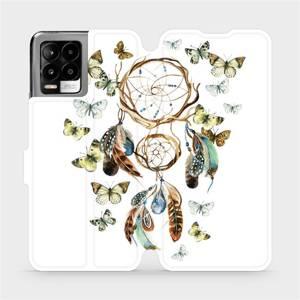 Flip pouzdro Mobiwear na mobil Realme 8 Pro - M001P Lapač a motýlci